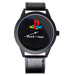 PlayStation Symbol Watch with Faux Leather Strap