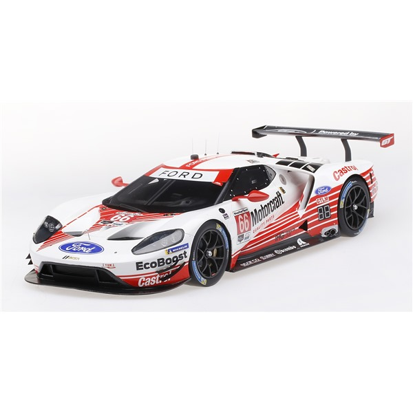 FORD GT GTLM #66 24H DAYTONA 2019 FORD CHIP GANASSI TEAM USA TOP SPEED