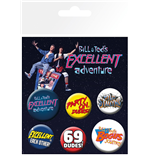Bill & Ted's Excellent Adventure Pin 394779