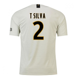 2018-19 Psg Away Football Shirt (T Silva 2)