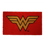 Wonder Woman Symbol 17x 29 Doormat with Non-skid Back