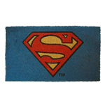 Superman Logo 17x 29 Doormat with Non-Skid Back