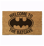 Batman Welcome to the Batcave 17x 29 Doormat with Non-Skid Back
