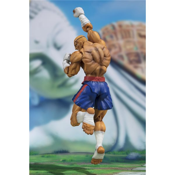 Street Fighter V Sagat S.H.FIGUARTS Action Figure