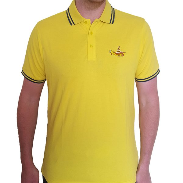 The Beatles Unisex Polo Shirt: Yellow Submarine