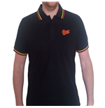 David Bowie Unisex Polo Shirt: Flash Logo