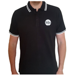 The Beatles Unisex Polo Shirt: Drum Logo