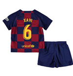 2019-2020 Barcelona Home Nike Little Boys Mini Kit (XAVI 6)