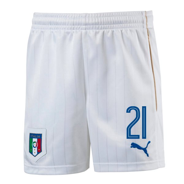 2016-17 Italy Home Shorts (21) - Kids