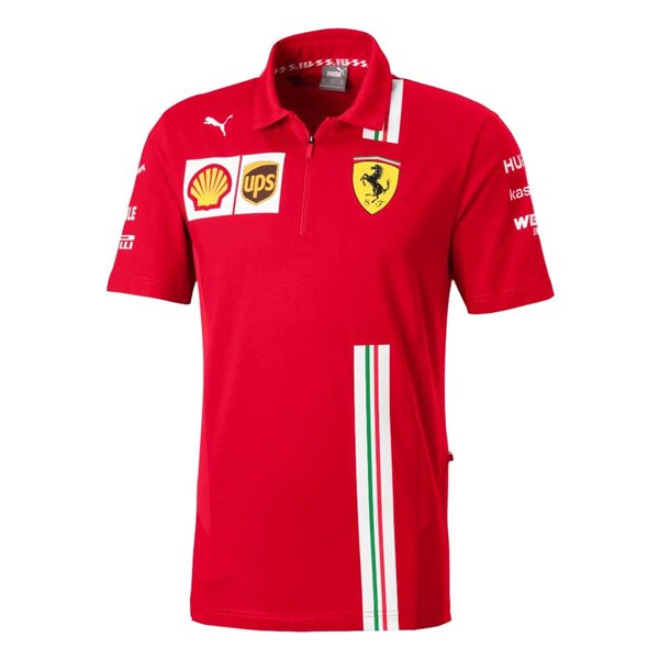 2020 Ferrari Puma Team Polo (Red)