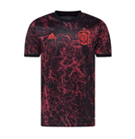 2020-2021 Spain Pre-Match Training Shirt (Black) - Kids