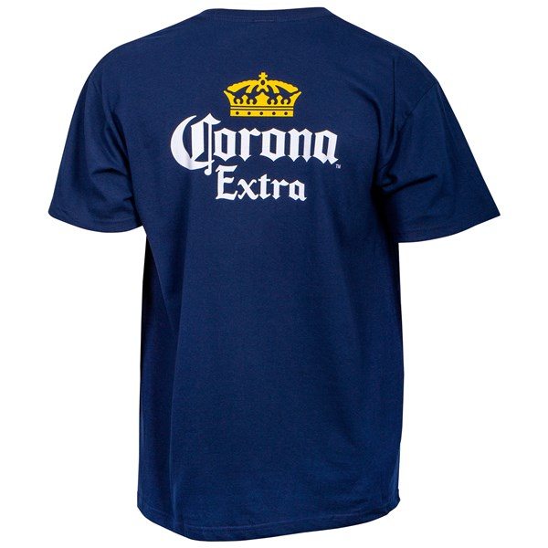 Corona Extra Front and Back Label Pocket T-Shirt