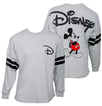 Disney Mickey Mouse Express Disney Grey Long Sleeve Shirt