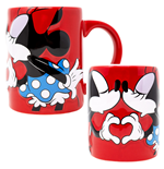 Disney Mickey and Minnie Kissing 14 Ounce Mug