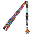 Masters Of The Universe Lanyard with He-Man Rubber Charm