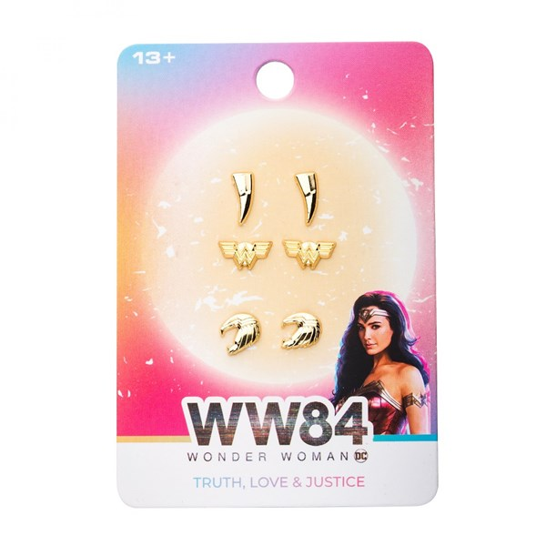 Wonder Woman 1984 Movie Gold Earring Set