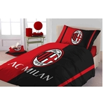 AC Milan Single Quilt Cover Set