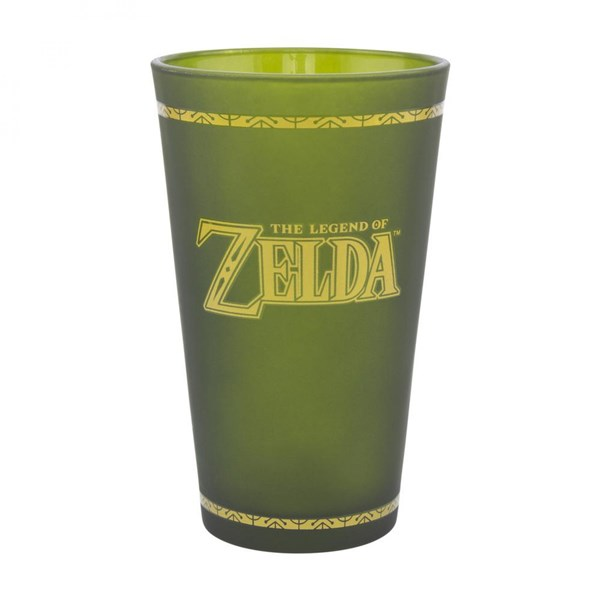 The Legend of Zelda Hyrule Crest Pint Glass