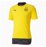2020-2021 Borussia Dortmund Casuals Polo Shirt (Yellow)