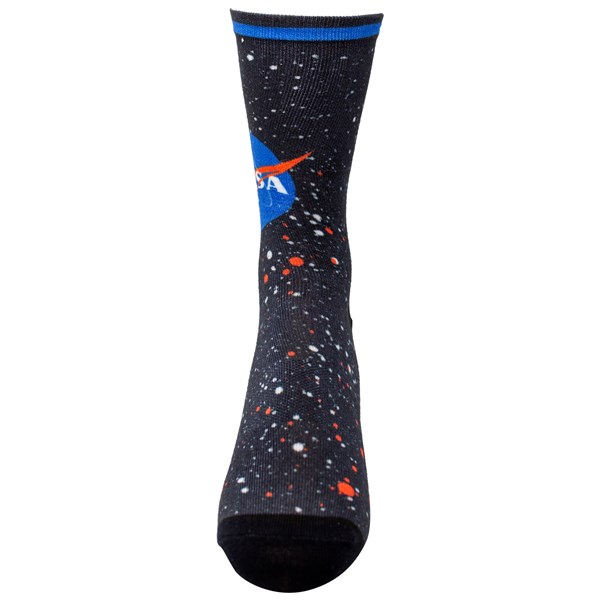 NASA Universe Logo Socks