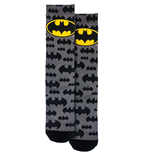 Batman Logo and Symbols All Over Crew Socks