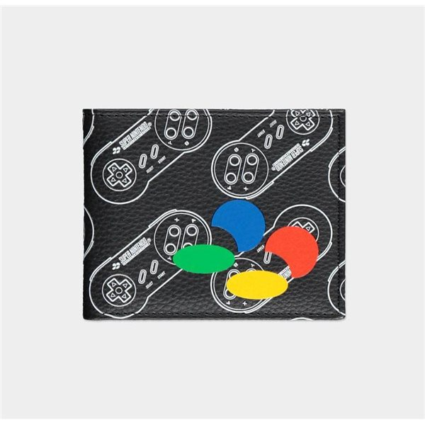 Nintendo Bifold Wallet SNES All Over Print