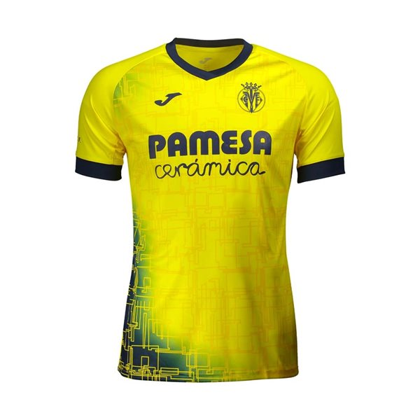 2020-2021 Villarreal Training Shirt (Yellow)