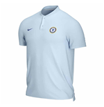 2020-2021 Chelsea Authentic Polo Shirt (Sky Blue)