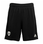 2020-2021 Arsenal Adidas Home Goalkeeper Shorts (Black)