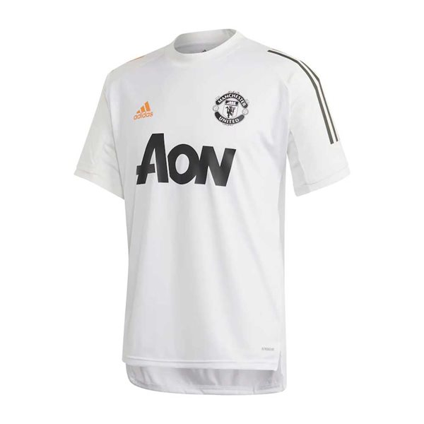 2020-2021 Man Utd Adidas Training Shirt (White) - Kids