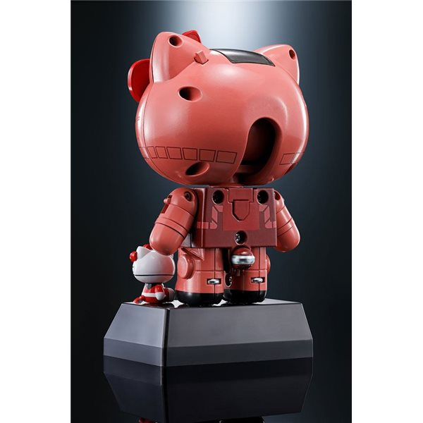 Hello Kitty Chogokin Diecast Action Figure Hello Kitty Char's Zaku II Ver. 11 cm