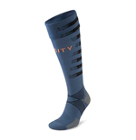 2020-2021 Manchester City Away Socks (Dark Denim)