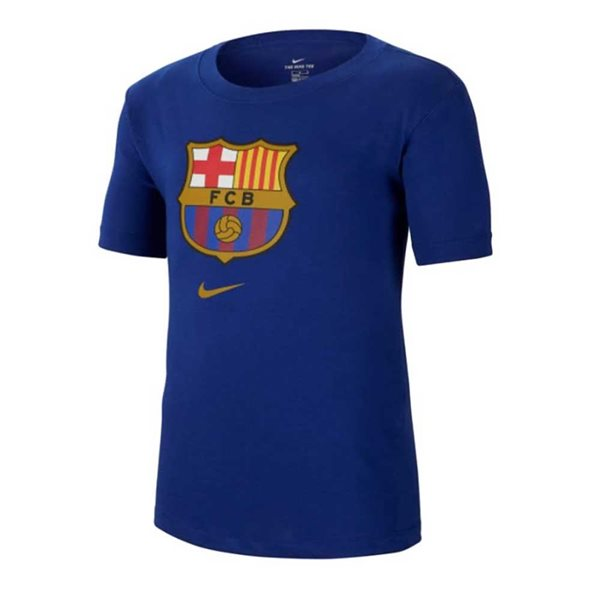 2020-2021 Barcelona Evergreen Crest Tee (Blue)