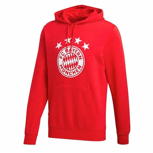 2020-2021 Bayern Munich DNA Hooded Top (Red)