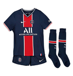 2020-2021 PSG Home Nike Little Boys Mini Kit