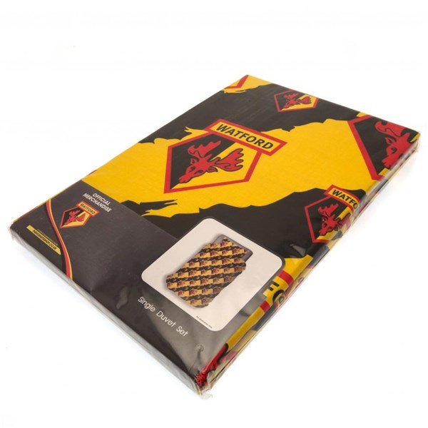 Watford FC Single Duvet Set