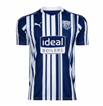 2020-2021 West Bromwich Albion Puma Home Football Shirt