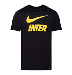 2020-2021 Inter Milan Dry Ground Tee (Black)