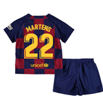 2019-2020 Barcelona Home Nike Little Boys Mini Kit (Martens 22)