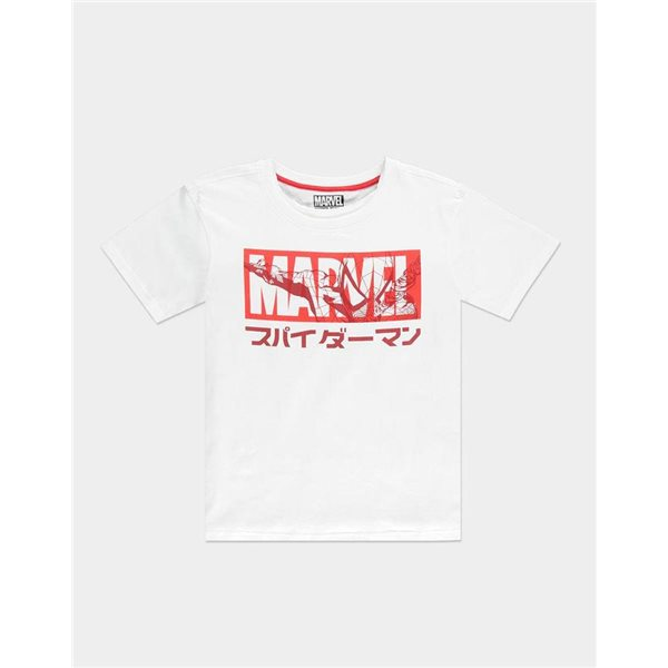 Spider-Man Ladies T-Shirt Japanese Size M