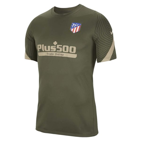 2020-2021 Atletico Madrid Training Shirt (Cargo Khaki)