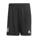 2020-2021 Olympique Lyon Adidas Away Shorts (Black)