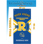 Riverdale Cheeerleading Wall Banner Wall Scroll