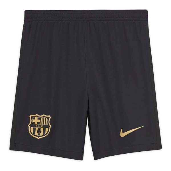 2020-2021 Barcelona Away Nike Football Shorts Black (Kids)