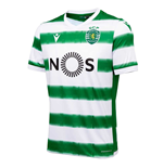 2020-2021 Sporting Lisbon Authentic Home Football Shirt (Kids)