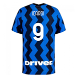 2020-2021 Inter Milan Authentic Vapor Match Home Nike Shirt (ICARDI 9)