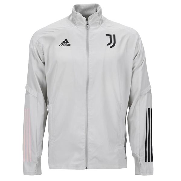 2020-2021 Juventus Adidas Presentation Jacket (Grey) - Kids