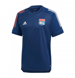 2020-2021 Lyon Training Jersey (Mystery Blue)