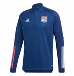 2020-2021 Lyon Training Top (Mystery Blue)