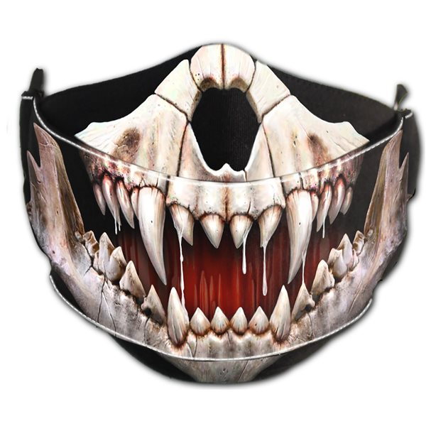 Rock Jaw - Premium Cotton Fashion Mask with Adjuster